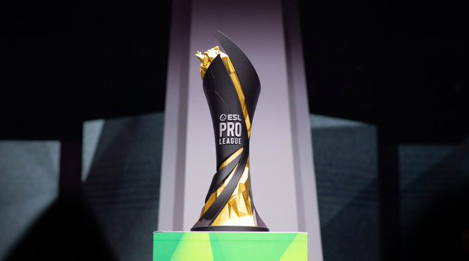 New ESL Pro League trophy !